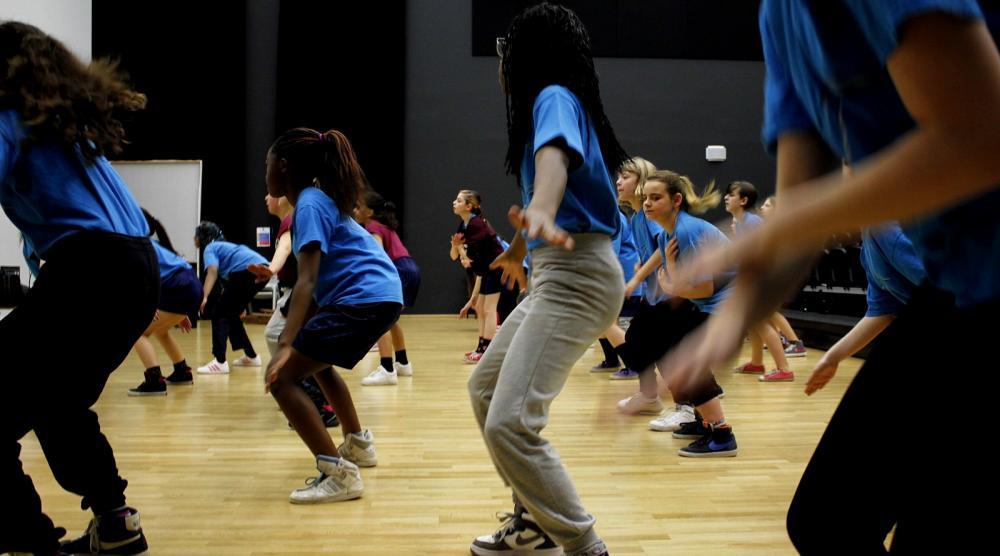 Slide 3: Workshop Streetdance