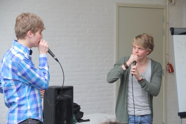 Workshop Beatboxen Teambuilding